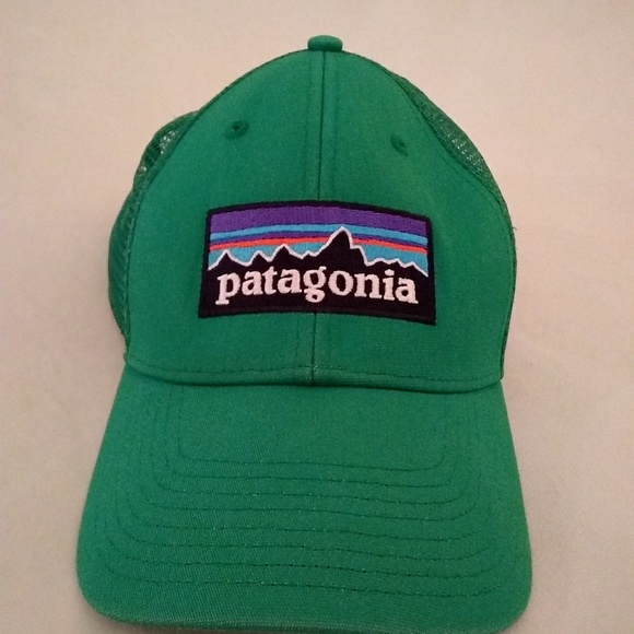 a6238a3e7 Patagonia P6 trucker hat *Retired color*